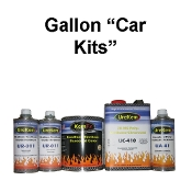 200 & 300 Series Metallic Base Clear Car Paint Kits