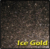 PrismFx Ice Gold Glass Pearl Powder