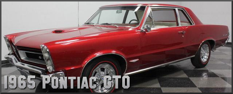 1965 Pontiac GTO Factory Paint Colors