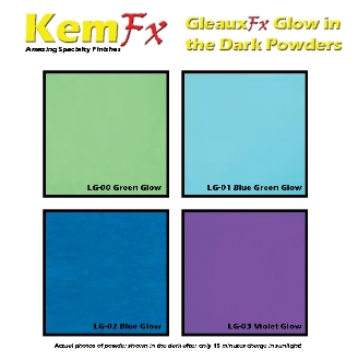 GleauxFx Glow in the Dark Powder