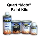 400 Series Pearl Basecoat Clearcoat Motorcycle Paint Kit