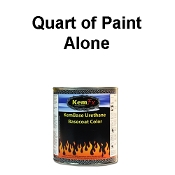 100 Series Solid Color Basecoat Quarts - Quart Alone