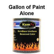 100 Series Solid Color Basecoat Gallons  - Gallon Alone