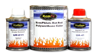 Hot Rod Black Car Paint 1.5 Quart Single Stage Urethane Kit