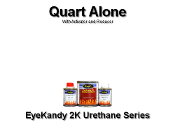 EyeKandy 2K Urethane Candy Paint - Quart Kits