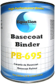 Equasion Offset Binder to PPG 695 Binder