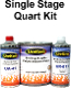 UreTop Metallic Urethane Topcoat 1.5 Quart Kit