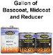 500 Series, Gallon of Basecoat, Midcoat and Reducer