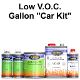 400 Series Pearl Basecoat Clearcoat Car Paint Kit Low VOC