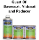 500 Series, Quart of Low VOC Basecoat, Midcoat and Reducer