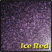 PrismFx Ice Red Glass Pearl Powder