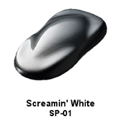 Screamin' White Xirallic Pearl