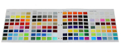 UreKem Hot Custom Colors Color Selector Chip Chart