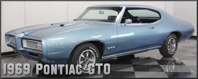 1969 Pontiac Gto Factory Paint Colors